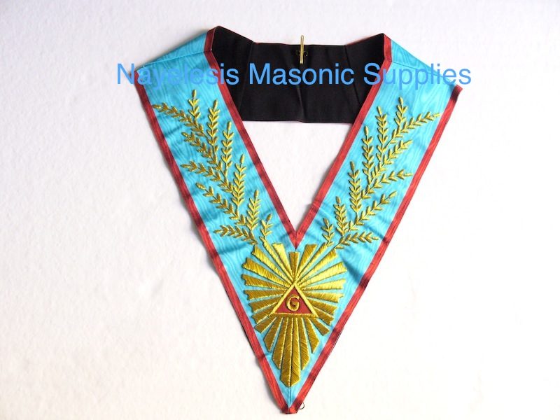 REAA/ASSR/Scottish Rite Aprons : Worshipful Master Past